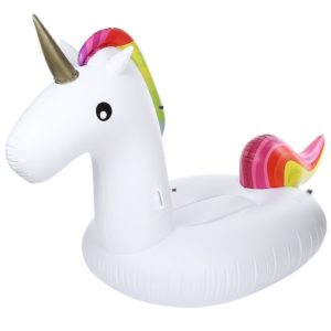 Rainbow Unicorn Pool Float