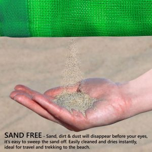 Sand Free Beach Mat Waterproof Camping Blanket hk