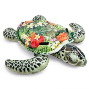 Intex Giant Sea Turtle Ride-On Pool Float - 兒童海龜充氣坐騎