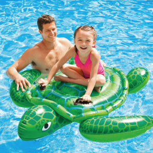 Intex Kids turtle ride-on float hk