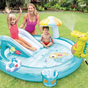 Inflatable Crocodile Park Baby Swimming Pool