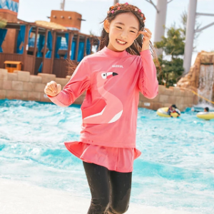 Barrel Kids Buddy Rashguard-ROSE PINK