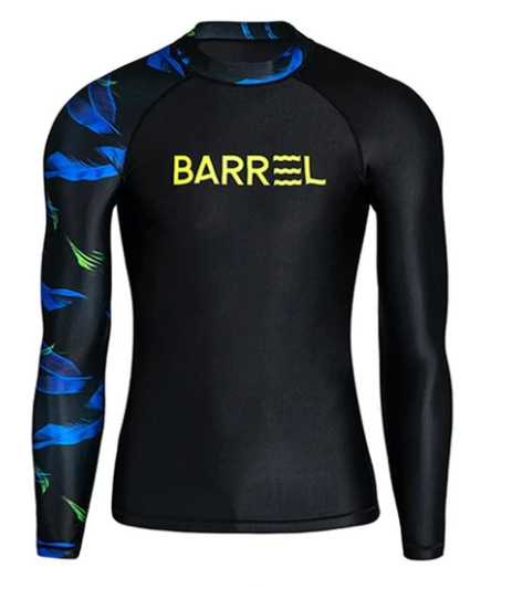Barrel Mens Odd Rashguard-BLACK