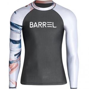 Barrel Mens Odd Rashguard-DARK GREY