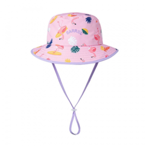 Barrel Kids Pattern Bucket Hat-MINGO hk