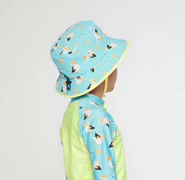 Barrel Kids Pattern Bucket Hat-PALLY