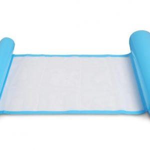 light blue Inflatable pool floating cushion mat -彩色充氣浮墊