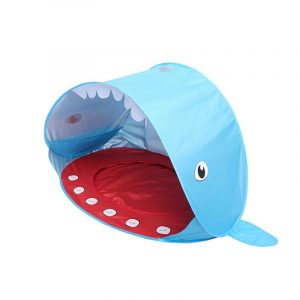 Shark Pop Up kids baby Beach Tent hk