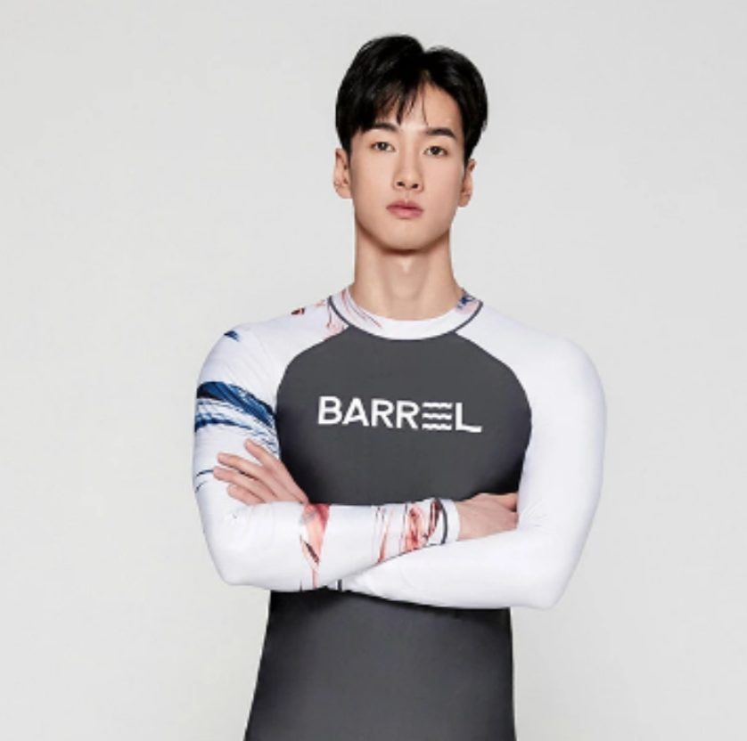 Barrel Mens Odd Rashguard-DARK GREY