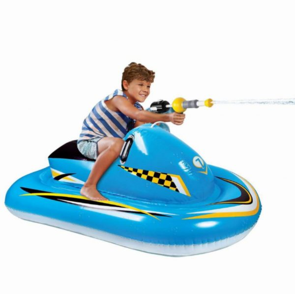 Bestway Inflatable Bumper Car Pool Float Ride-On with Water Blaster