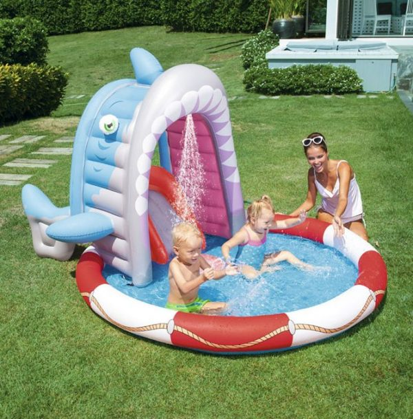 shark attack play pool